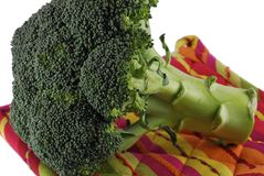 Broccoli. Fresh green vegetables, broccoli floret Royalty Free Stock Photography