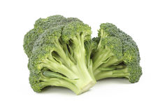 Broccoli. Fresh broccoli vegetable isolated over the white background Stock Photography