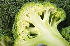 Broccoli affettati Fotografia Stock Libera da Diritti