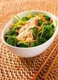 Broccoli avec le tofu photo libre de droits
