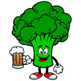 Broccoli with Beer Royalty Free Stock Photo