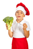 Broccoli it is the best Stock Photography