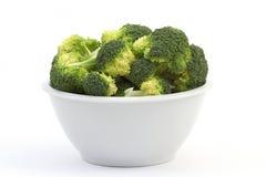 Broccoli in a bowl Stock Photo