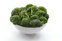 Broccoli in bowl Royalty Free Stock Photography