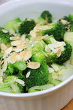 Broccoli with butter Royalty Free Stock Photos