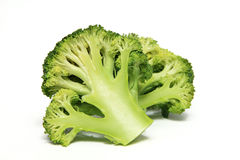 Broccoli Cabbage Isolated on White Background Stock Photos