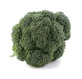 Broccoli cabbage on white background isolate royalty free stock photo
