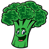 Broccoli Cartoon Royalty Free Stock Images