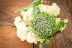 Broccoli with cauliflower Stock Photography