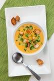 Broccoli - Cheddar Soup Royalty Free Stock Photos