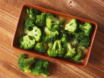 Broccoli and cheese Stock Photography