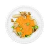 Broccoli Cheese Potatoes Frozen Stock Photos