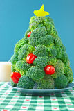Broccoli Christmas Tree Stock Photos