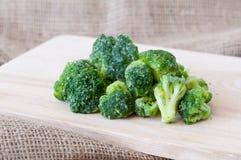 Broccoli congelati Immagine Stock