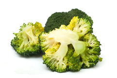 Broccoli cooked fresh closeup Stock Photo