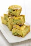 Broccoli Corn Bread Stock Images