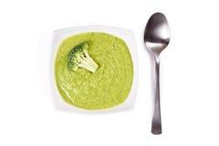 Broccoli cream soup Stock Photo