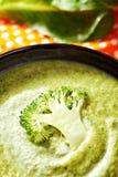 Broccoli cream soup Royalty Free Stock Photos