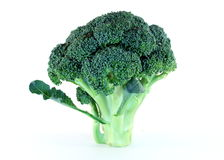 Broccoli Crown Royalty Free Stock Photos