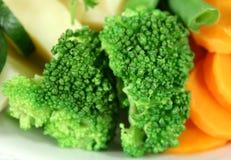 Broccoli cuit à la vapeur Images libres de droits