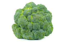 Broccoli cut out on white background Royalty Free Stock Photo