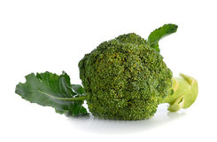broccoli d'isolement images libres de droits