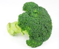 Broccoli d'isolement frais Image libre de droits