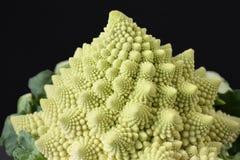 Broccoli de Romanesco, chou-fleur romain image stock