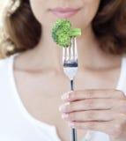 Broccoli dela sig på Royaltyfri Bild