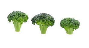 Broccoli die op witte achtergrond worden geïsoleerd? Gezond voedsel Dieet Groen royalty-vrije stock fotografie