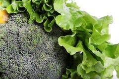 Broccoli en spinazie Stock Foto