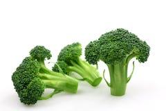 Broccoli florets Stock Images
