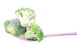Broccoli florets Stock Photo