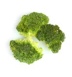 Broccoli florets Stock Photos