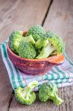 Broccoli florets Stock Photography