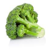 Broccoli frais d'isolement sur le fond blanc photo stock