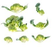 Broccoli. Fresh broccoli isolated on white background Stock Image
