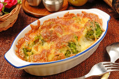 Broccoli Gratin Royalty Free Stock Images