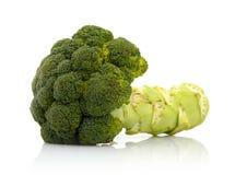 Broccoli. Green broccoli isolated on white Stock Image