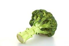 Broccoli. Green broccoli on a white background Royalty Free Stock Photo