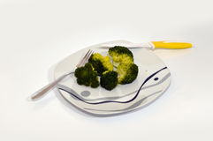 Broccoli. Healthy food , fitness food, broccoli Royalty Free Stock Photo
