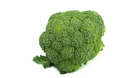 Broccoli isolated royalty free stock image