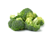 Broccoli isolated on white ackground Royalty Free Stock Photo