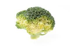Broccoli isolated on white background.  Stock Photo
