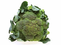 Broccoli with leaves Stock Images