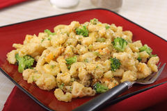 Broccoli Mac and Cheese Royalty Free Stock Image