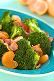 Broccoli Mandarin Bacon Salad Stock Image