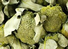 Broccoli in market stand - background. Fresh raw green broccoli vegetables. Broccoli in market stand - background stock image