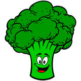 Broccoli Mascot Stock Images