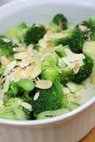 Broccoli met boter Royalty-vrije Stock Foto's